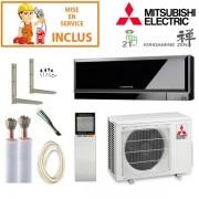 MITSUBISHI ELECTRIC Pack Confort Climatisation Mitsubishi MSZ-EF25VGB