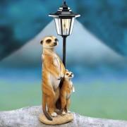 Die moderne Hausfrau Solární lampa surikaty