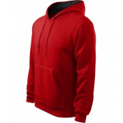 ADLER Hooded Sweater Pánská mikina 40507 červená XXL