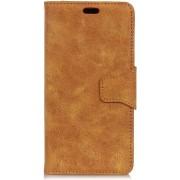 Shop4 - Xiaomi Mi A2 Hoesje - Wallet Case Retro Khaki
