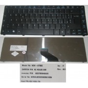 Clavier Qwerty Italien / Italian Pour Acer Travelmate TM8371 TM8471 8371 8471 Series - Noir / Black - Model: NSK-AT00E - P/N: 9Z.N3L82.00E, KB.I140A.154