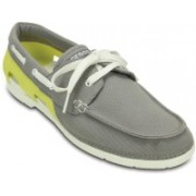 Crocs Beach Line Lace-up M Boat Shoe For Men(Green)