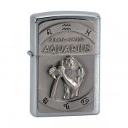 Zapalovač Zippo 21604 Aquarius Emblem + Možnosť GRAVÍROVANIA + Benzín Zadarmo