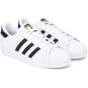 ADIDAS ORIGINALS SUPERSTAR W Sneakers For Women(Black, White)