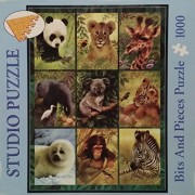 """Bits and Pieces """"Endangered Species"""" 1000 Piece Jigsaw Puzzle"""