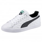 Puma Clyde Dressed Part Deux FM white