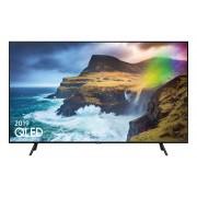 Televizor QLED Samsung QE49Q70RAT, 123 cm, 4K UHD, PQI 2700, Dolby Digital Plus (40W), Tehnologie AI, Procesor Quantum 4K, Smart TV, Mod jocuri, Wi-Fi, Bluetooth de energie scazuta, CI+, Clasa energetica B, Negru ardezie