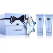 Mugler Angel coffret XXXIII. Eau de Parfum 50 ml + leite corporal 100 ml + gel de duche 100 ml