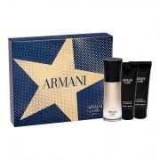 Giorgio Armani Code Absolu confezione regalo eau de parfum 60 ml + doccia gel 75 ml + balsamo dopobarba 75 ml uomo