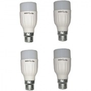 LED Bulb (Pack of 4) Orbit 5 Watt White Bullet Series LED Bulb B22 Cap