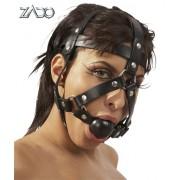 Maschera Zaso Con Cinghie E Gag