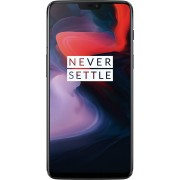 "Smart telefon OnePlus 6 Mirror Black DS 6.28""FHD+ ALED, OC 2.8GHz/6GB/64GB/20+16&16Mpix/4G/8.1"