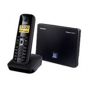 Gigaset A580 IP - Téléphone sans fil/téléphone VoIP avec identification de l'appelant - DECTGAP - SIP - 6 lignes - noir piano