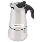 Pigeon XPRESSO COFFEE PERCULATOR 4 CUP 4 cups Coffee Maker(STEEL)