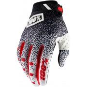 100% Ridefit Black/White Handschoenen-M