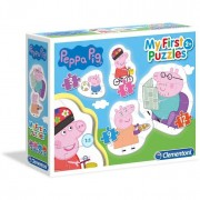 Clementoni puzzle 3,6,9,12 my first puzzles peppa pig 20808
