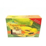 Purest Herbal Papaya Soap (100 g) Pack of 1