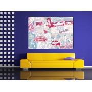 Tablou canvas colaj Italia - cod A43