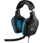 Logitech G432 Surround Sound Gaming Headset, C