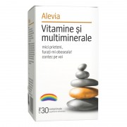 SUPLIMENT VITAMINE SI MULTIMINERALE 30 Comprimate