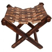 Wooden Foldable Stool/Chair/Table Made From Natural Wood