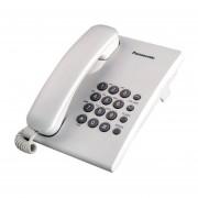 PANASONIC KXTS550MW TELEFONO ALAMBRICO MEMORIA PARA 13 NUMEROS CONTROL DE VOLUMEN COLOR BLANCO