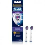 Oral B 3D White EB 18 cabeças de reposição para escova de dentes 2 un.