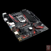 Asus STRIX B250G GAMING, Intel B250, VGA by CPU, PCI-Ex16, 4xDDR4, 2xM.2, DVI/HDMI/USB3.0, mATX (Socket 1151)