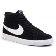 Обувки NIKE - Sb Zoom Blazer Mid 864349 002 Black/White/White/White