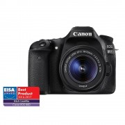 Canon EOS 80D Aparat Foto DSLR 24.2MP CMOS Kit cu Obiectiv EF-S 18-55 IS STM