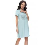 Dn-nightwear TCB.9081 Noční košilka S grey