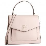 Дамска чанта DKNY - Whitney Ns Th Satche R91DHA96 Iconic Blush 3IB