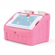 Step2 2-in-1 Art Toy Box 77.5x48.3x48.3 cm 848800