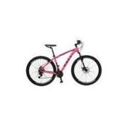 Bicicleta Colli Quadro Em Alumínio Aro 29 Freio A Disco Shimano 21 Marchas Rosa