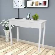 vidaXL Toaletní konzolový stolek bílý
