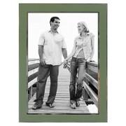 Malden International Designs Malden Sage Sleek Silver Frame, 5 by 7