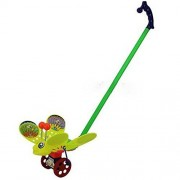 Eonkoo New Cute Bee Shining Push Pull Toy for Toddler Learning Wlark Walk,High Quality Plastic Walking Walker...