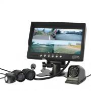 Parkovací a monitorovací 4x kamerový systém s nočním viděním