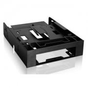 Adaptor Icy Dock FLEX-FIT Trio MB343SP de la 5.25 inch la 3.5/2x2.5 inch HDD/SSD, culoare neagra