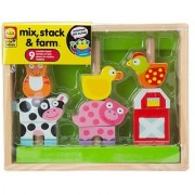 ALEX Toys Little Hands Mix Stack & Farm