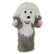 The Puppet Company Old English Sheepdog Long Sleeved Glove Puppet