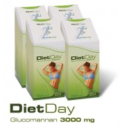 Diet Day Glucomannan 3000mg 4 doboz