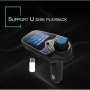 EH Transmisor FM Bluetooth coche reproductor de MP3 con el interruptor