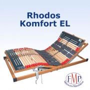 FMP Matratzenmanufaktur 7 Zonen Teller Lattenrost Rhodos EL Komfort elektrisch verstellbar 90x210 cm