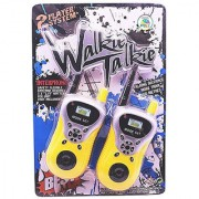 OH BABY BABY Yellow And White Plastic Walkie Talkie Toy Set For Kids FOR YOUR KIDS EER-RRT-SE-ET-589