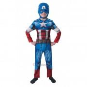 Costum pentru baieti Captain America, varsta 3-4 ani, marime S