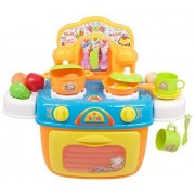 Techege Toys Learn'n'Play Kids Oven Cookware Set Boys and Girls Cooking Kitchen Learning Experience Fun Life Skills