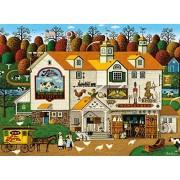 Buffalo Games Charles Wysocki The Farm Puzzle de 1000 Piezas