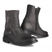 Stylmartin Motorradschnürstiefel kurz Motorradschuhe Cruise Stiefel schwarz 46 schwarz