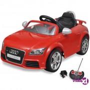 vidaXL Dječji Autić Audi TT RS s Daljinskim Upravljanjem Crveni